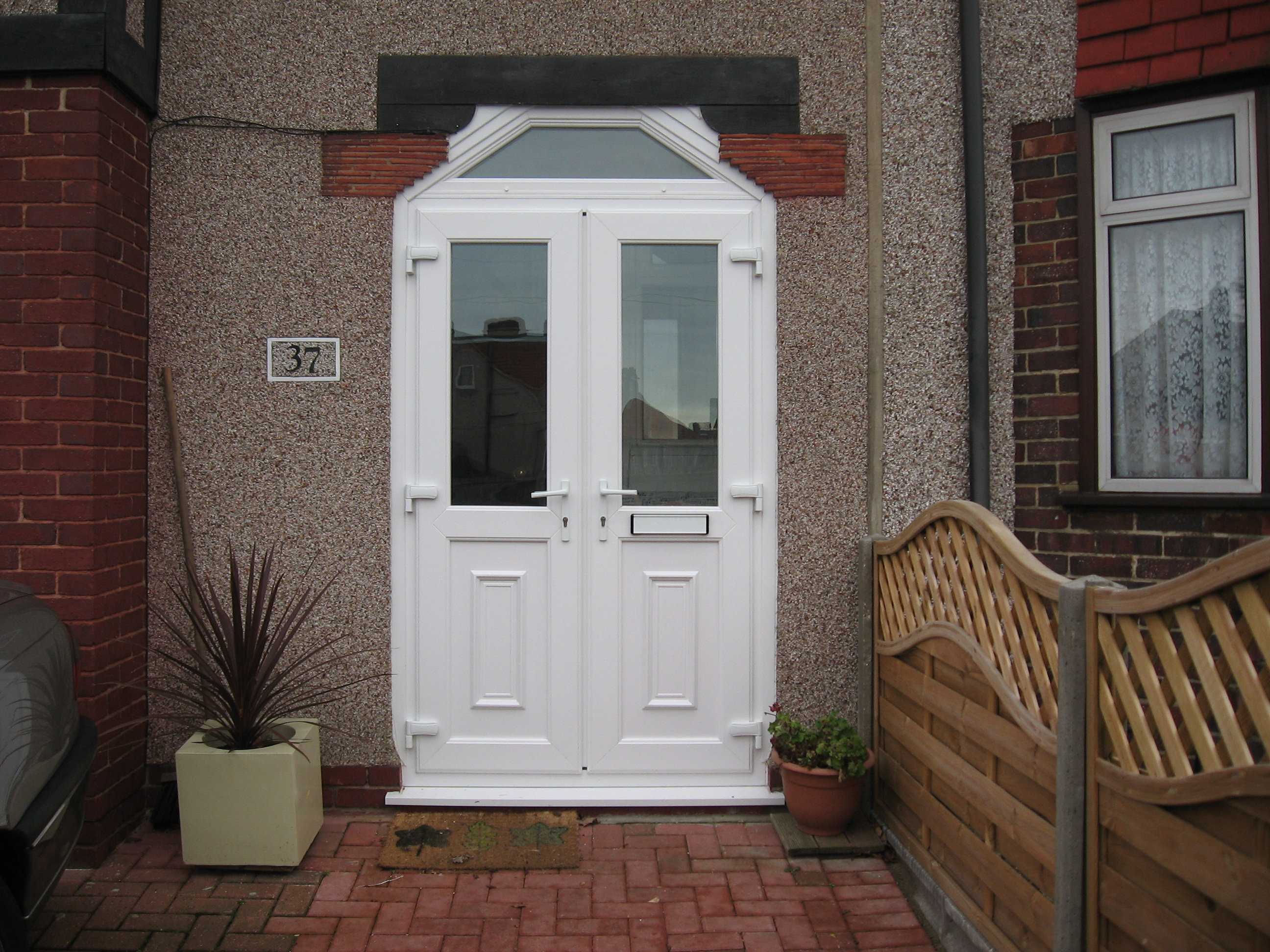 Customer fitted Door